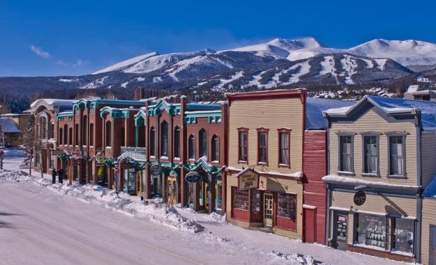 Town of Breckenridge in the Winter