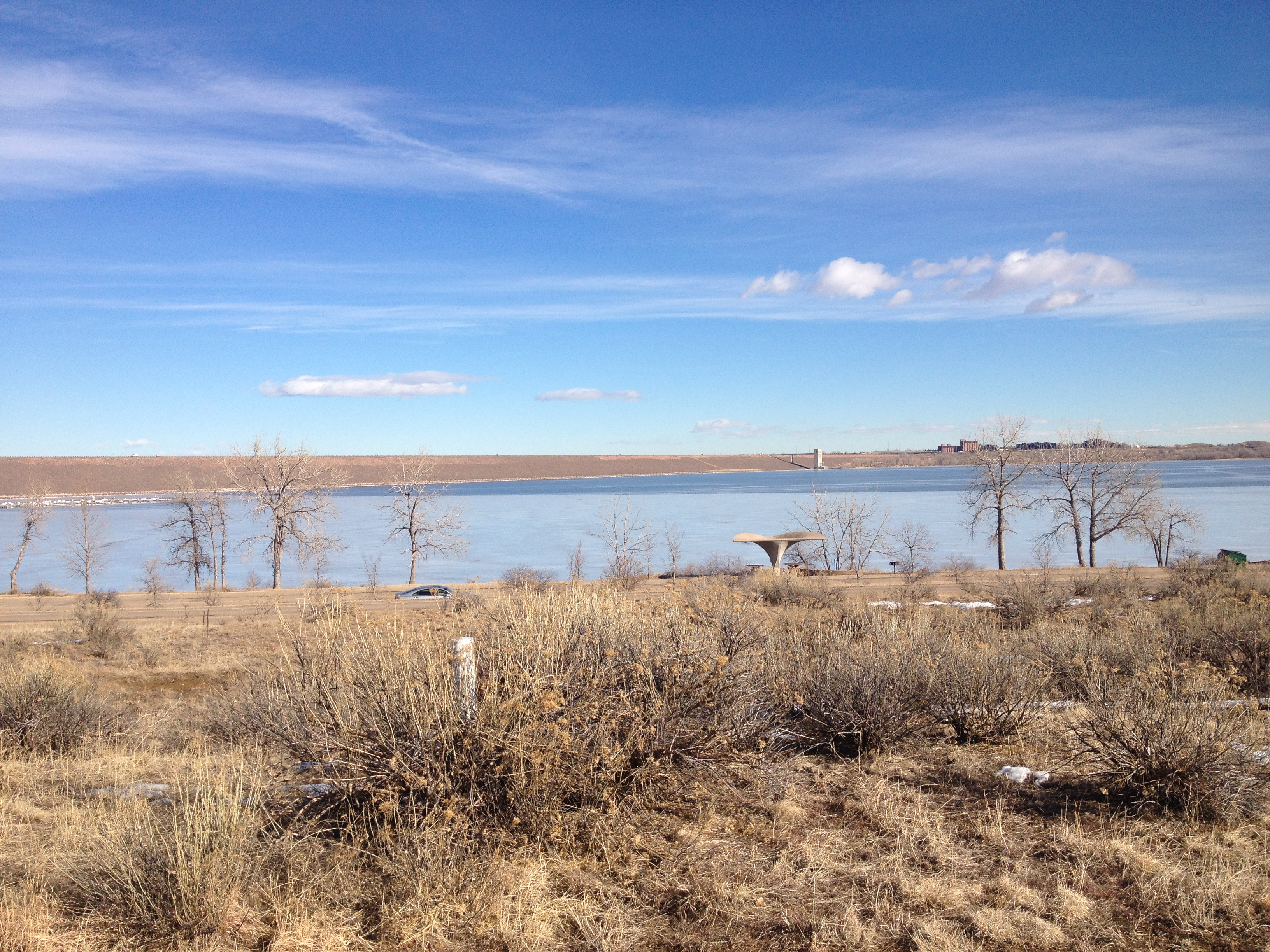 January 2015 the action story for Cherry creek reservoir fishing