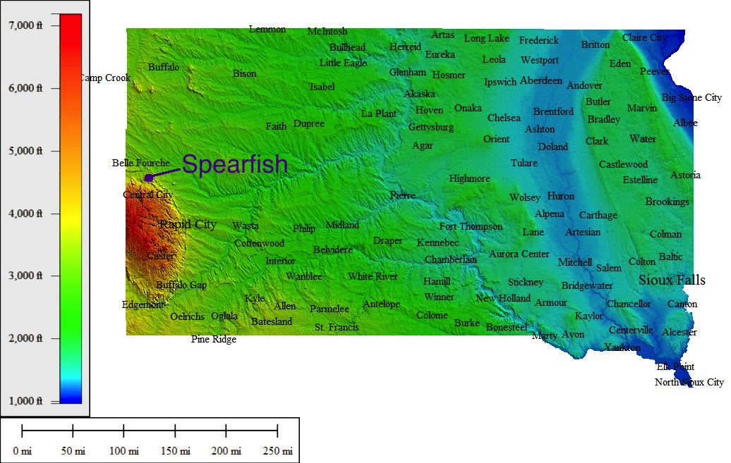 Spearfish_Topography